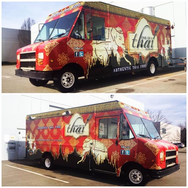 food truck vinyl wrap